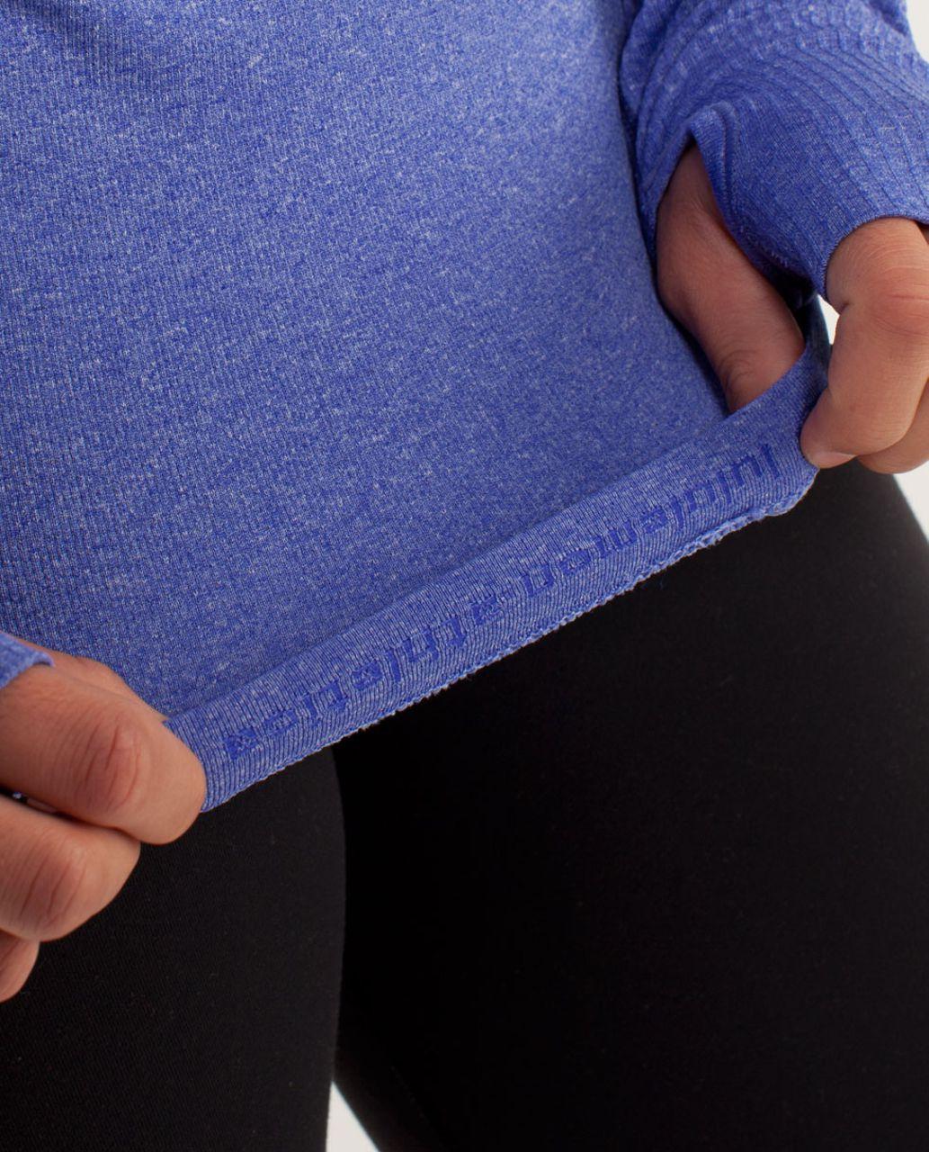 Lululemon Run:  Swiftly Tech Long Sleeve - Pigment Blue
