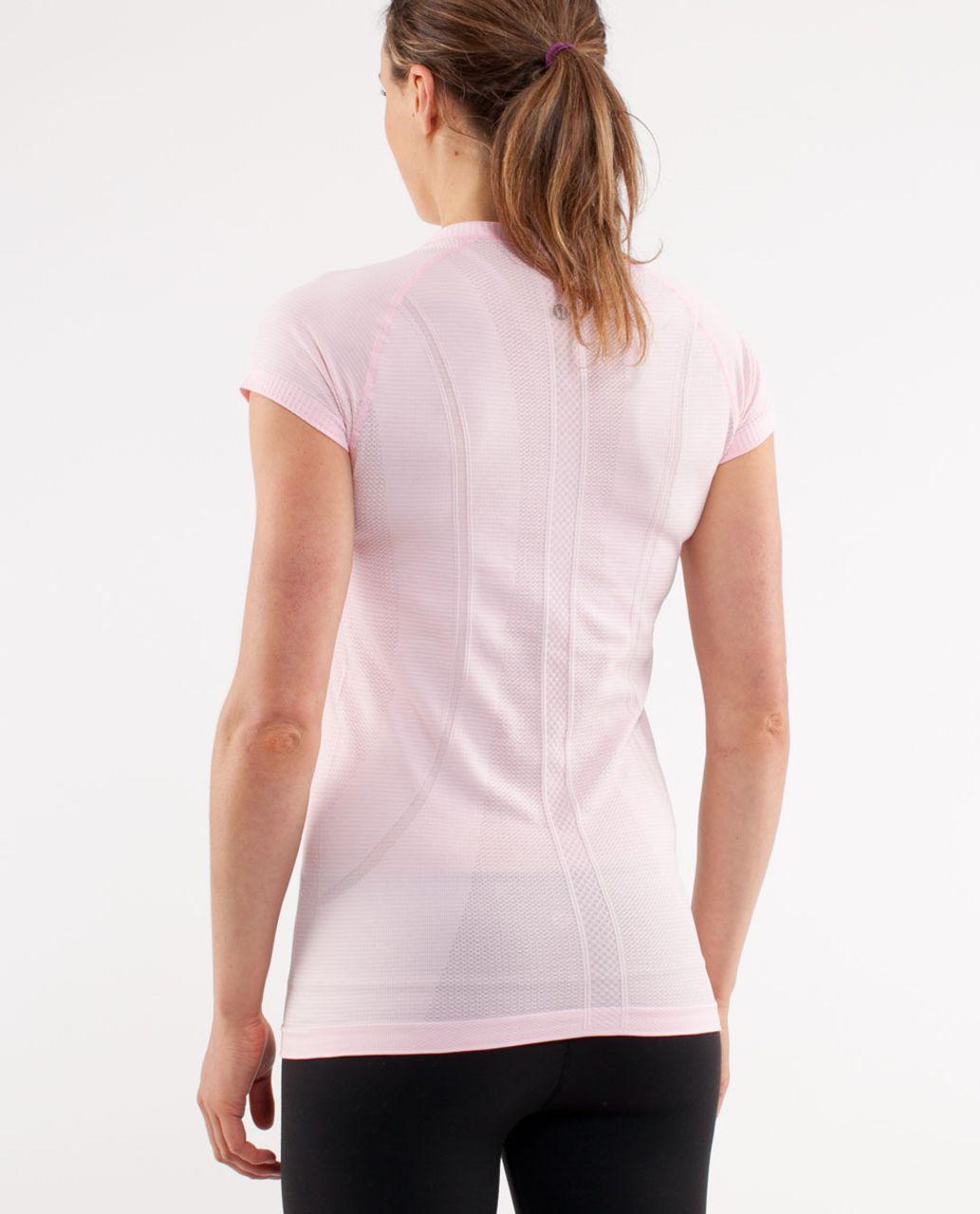 Lululemon Run:  Swiftly Tech Short Sleeve - Pig Pink
