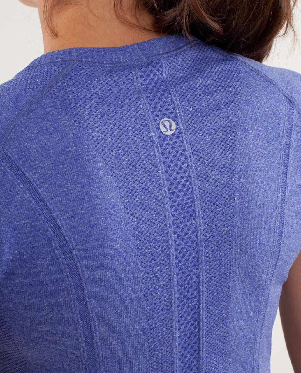 Lululemon Run:  Swiftly Tech Short Sleeve - Pigment Blue
