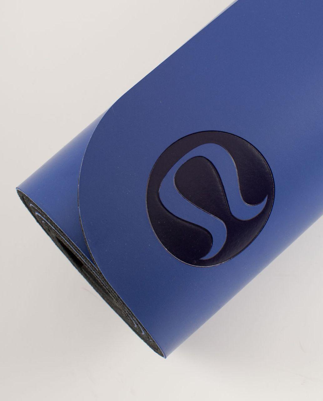 Lululemon The Mat - Pigment Blue /  Deep Coal