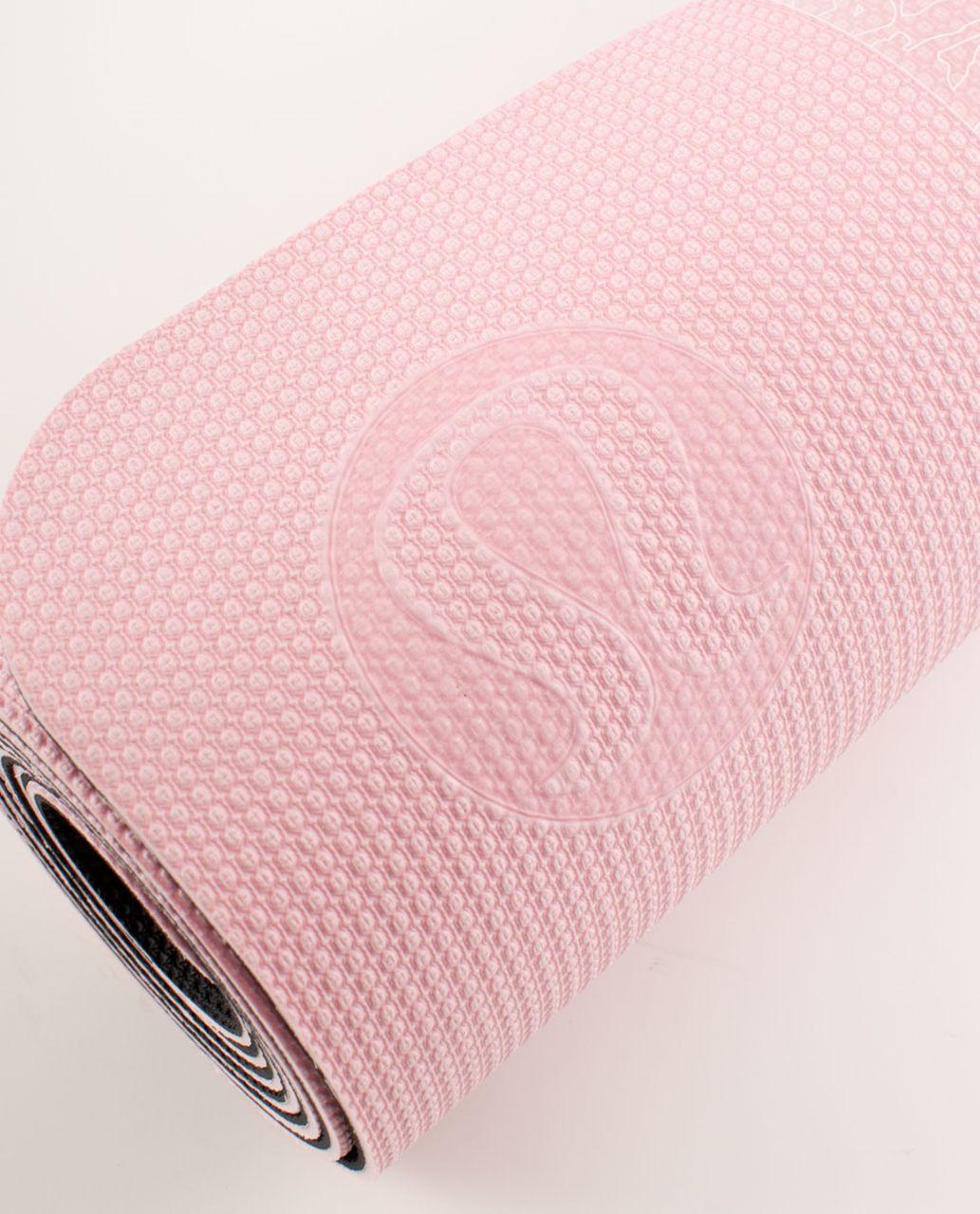 Lululemon Align Ultra Mat - Pig Pink /  Deep Coal