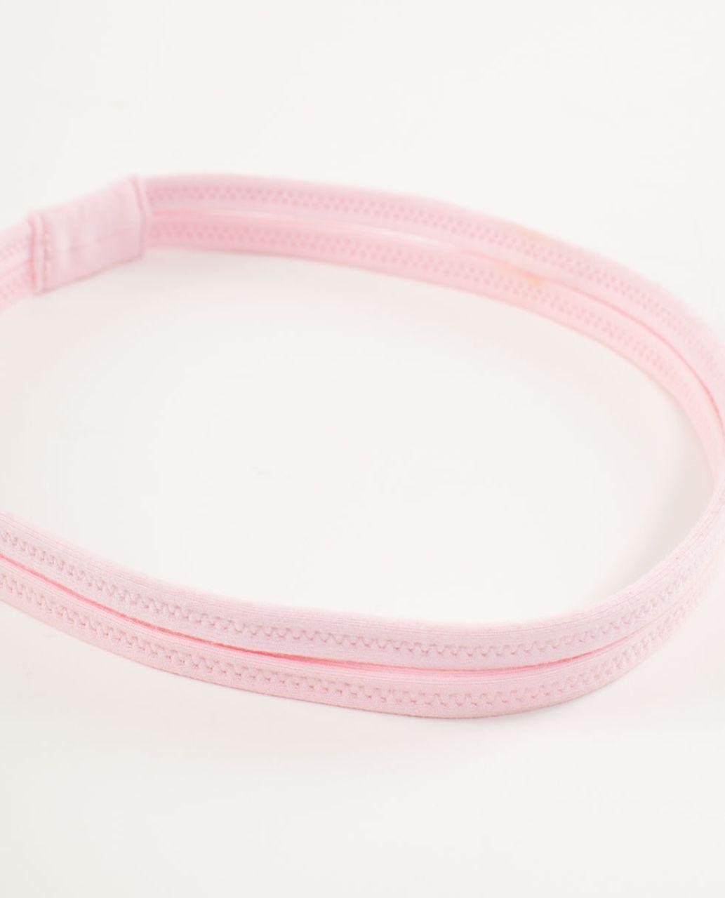 Lululemon DANCE! Headband - Pig Pink /  Heathered Pig Pink