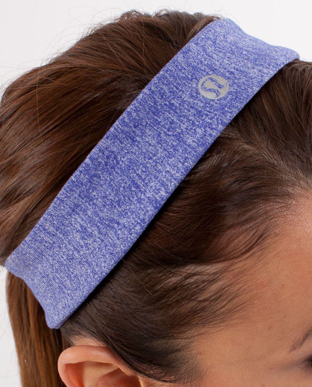Lululemon Slipless Headband - Heathered Pigment Blue