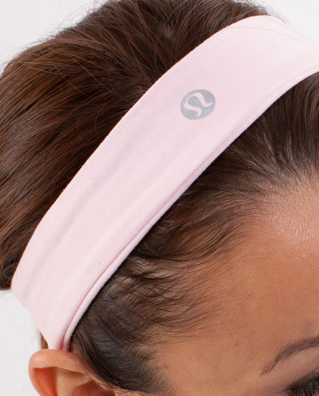 Lululemon Slipless Headband - Heathered Pig Pink