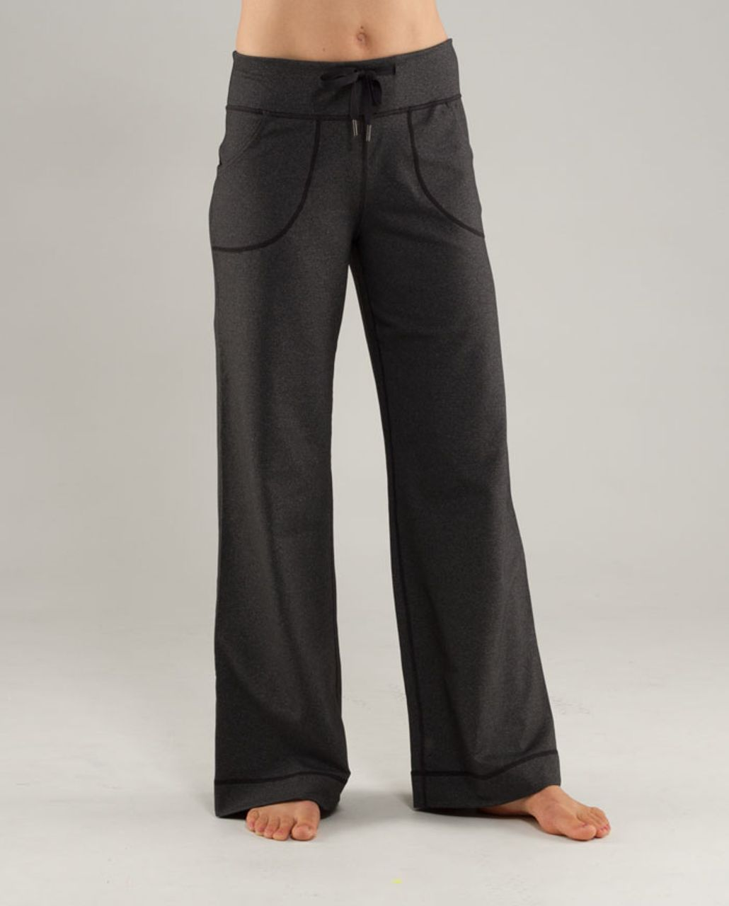 Lululemon Still Pant (Tall) - Heathered Black