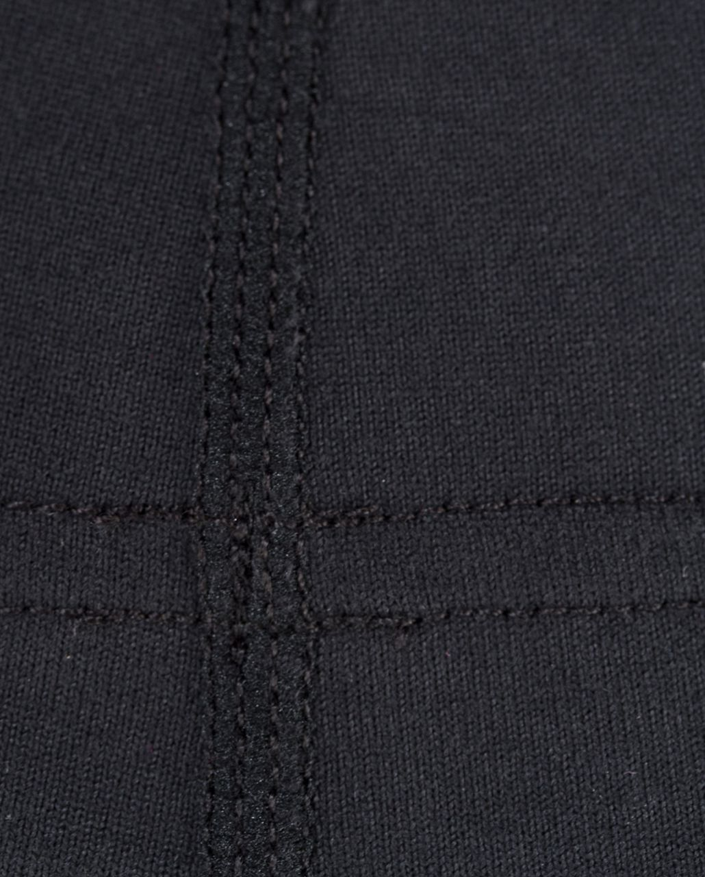 Lululemon Groove Pant (Tall) - Black /  Quilting Winter 2 /  Quilting Winter 2