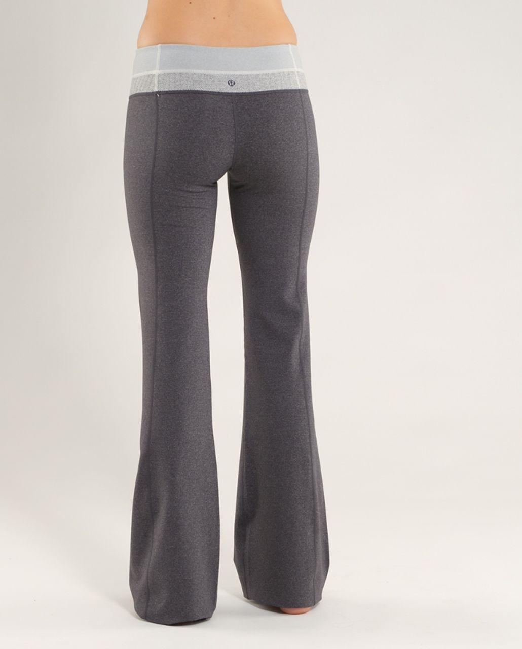 Lululemon Groove Pant (Tall) - Heathered Coal /  Ghost Blurred Grey Mini Stripe