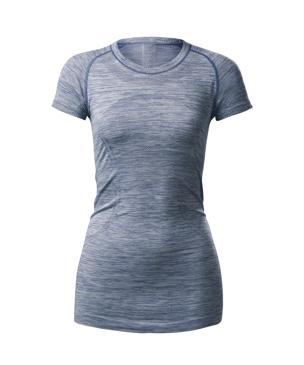Lululemon Swiftly Tech Short Sleeve Crew - Heathered Hero Blue