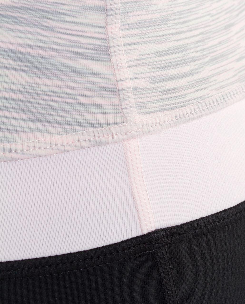 Lululemon Groove Pant (Tall) - Black /  Pink Mist Space Dye /  Pink Mist