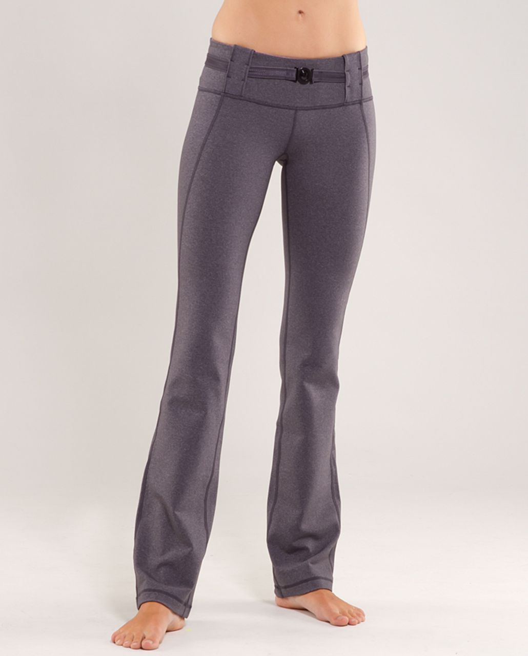 Lululemon Appreciation Pant - Heathered Coal /  Muted Mauve Stripes Galore