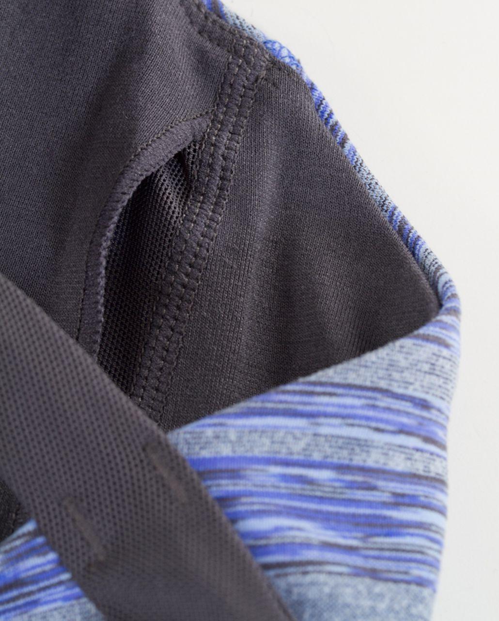 Lululemon 50 Rep Bra - Rocksteady Stripes Galore /  Coal