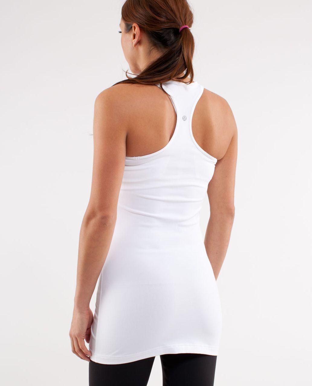 Lululemon Cool Racerback *Extra Long - White
