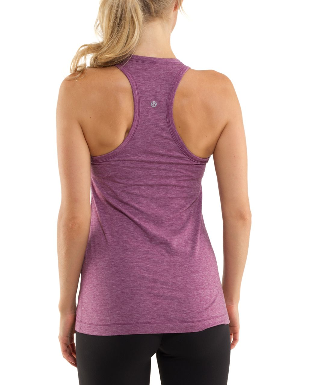 Lululemon Modern Racer Tank - Heathered Dew Berry