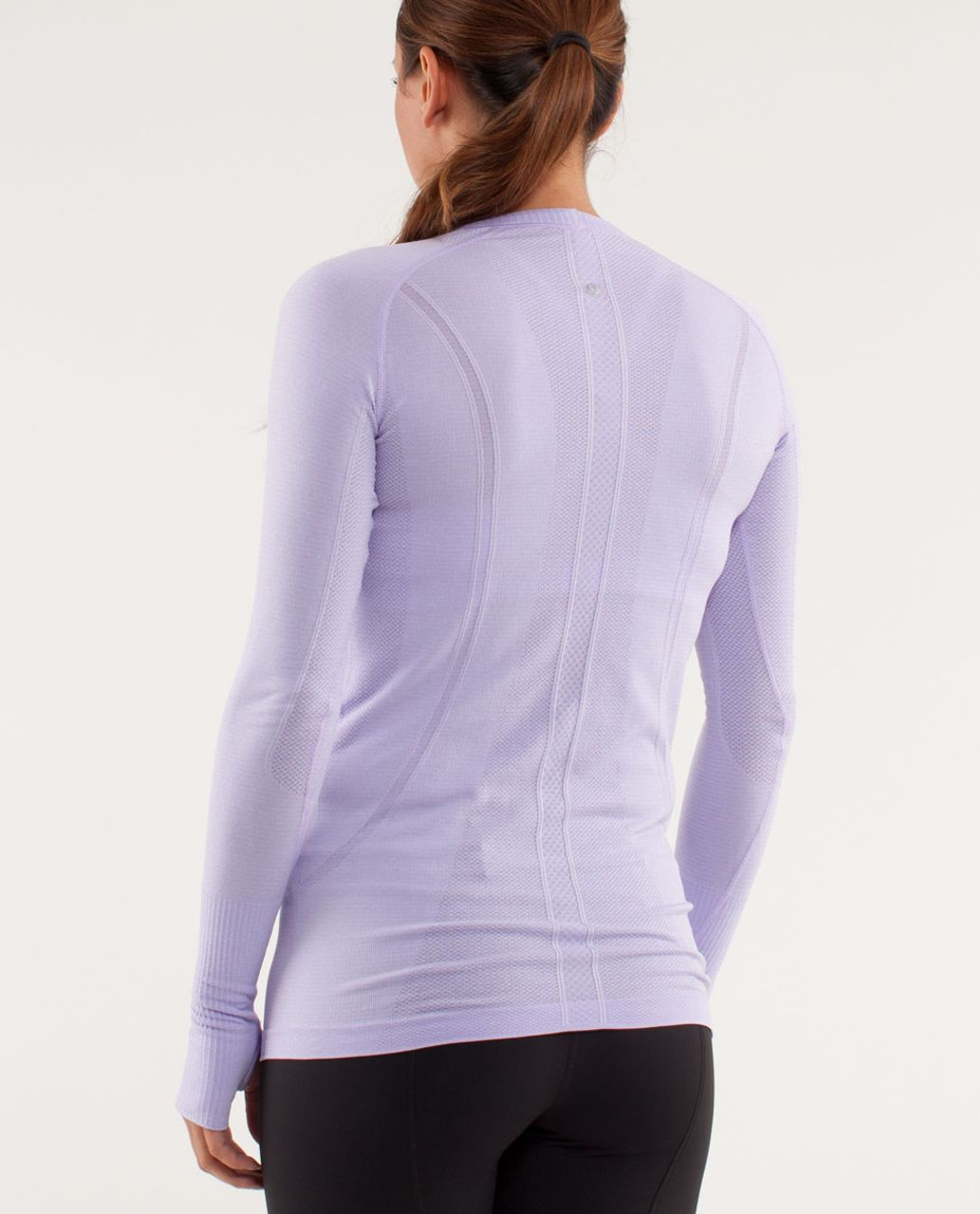 Lululemon Run:  Swiftly Tech Long Sleeve - Lilac