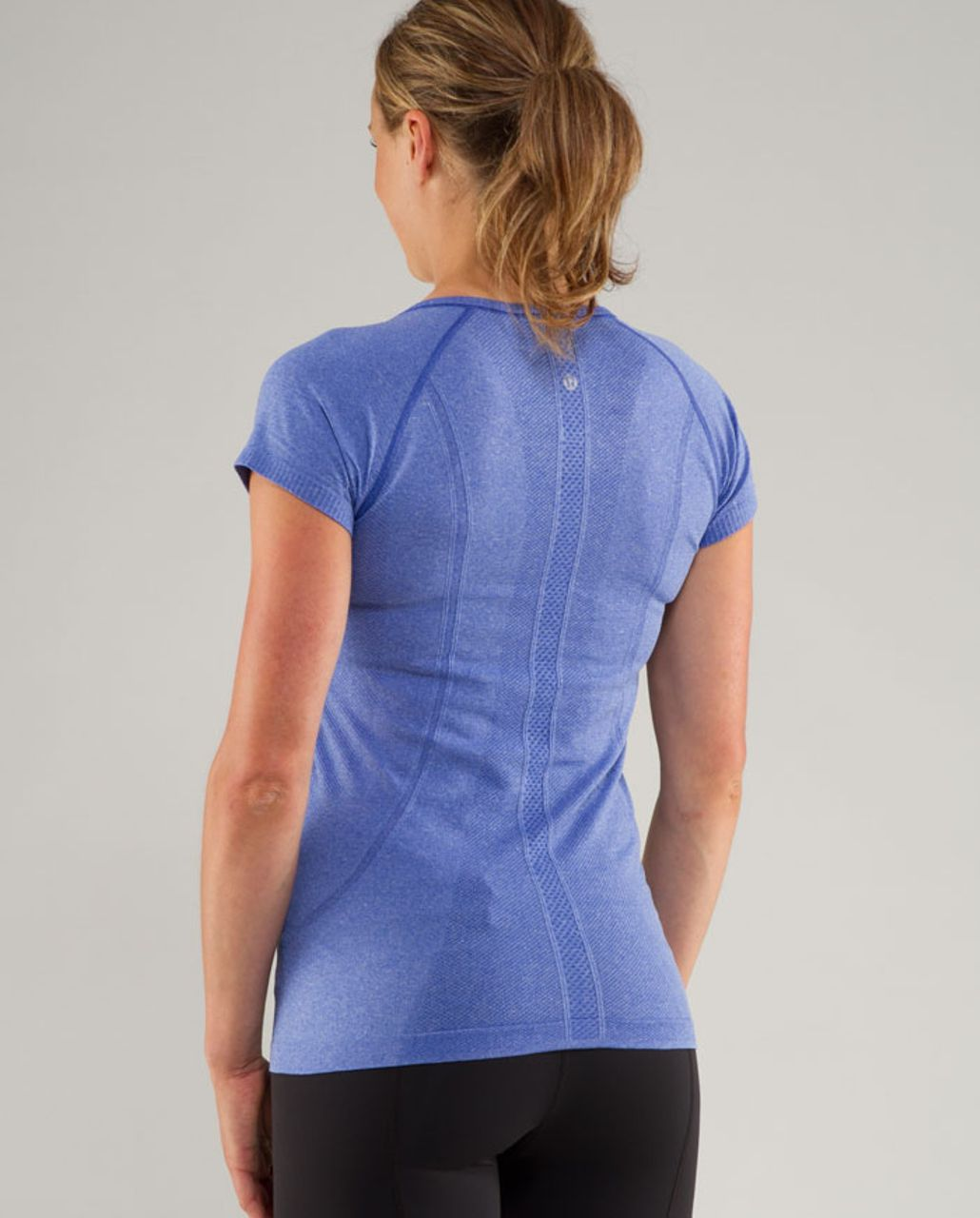 Lululemon Run:  Swiftly Tech V Neck - Rocksteady