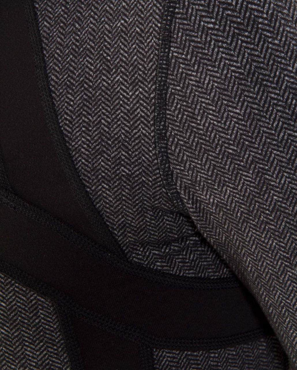 Lululemon Define Jacket *Herringbone - Black Heathered Deep Coal Herringbone /  Black