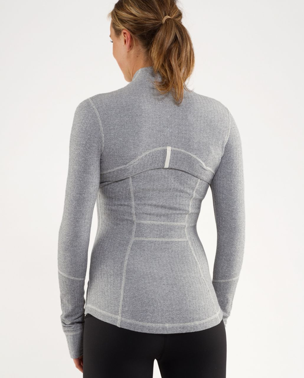 Lululemon Define Jacket *Herringbone - Ghost Heathered Coal Herringbone