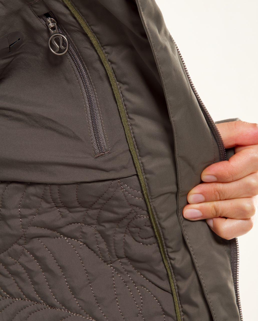 Lululemon Apres Piste Jacket - Wren /  Oyster