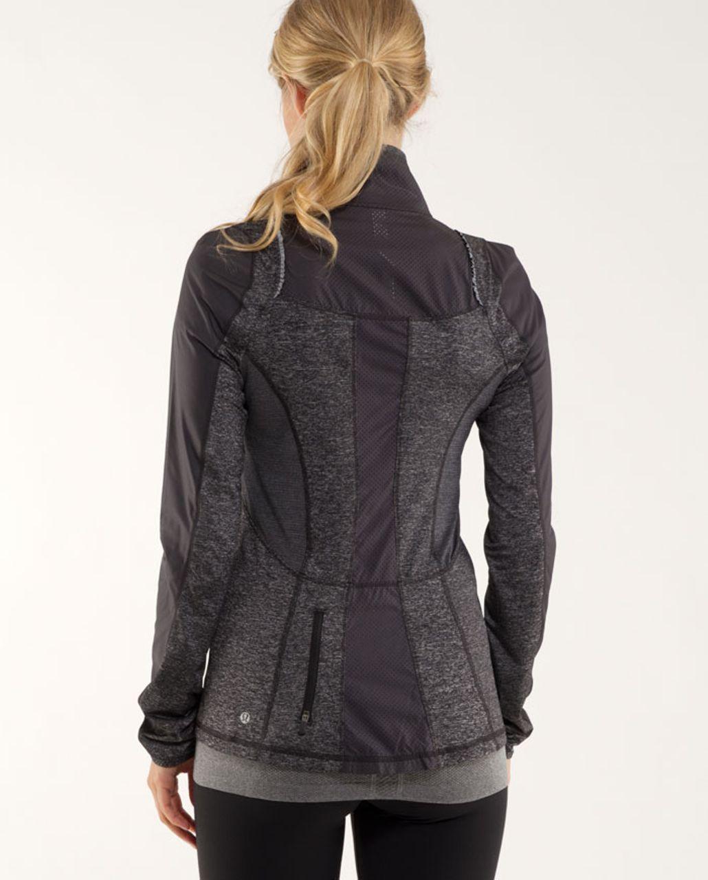 Lululemon Run:  Featherweight Hybrid Jacket - Black