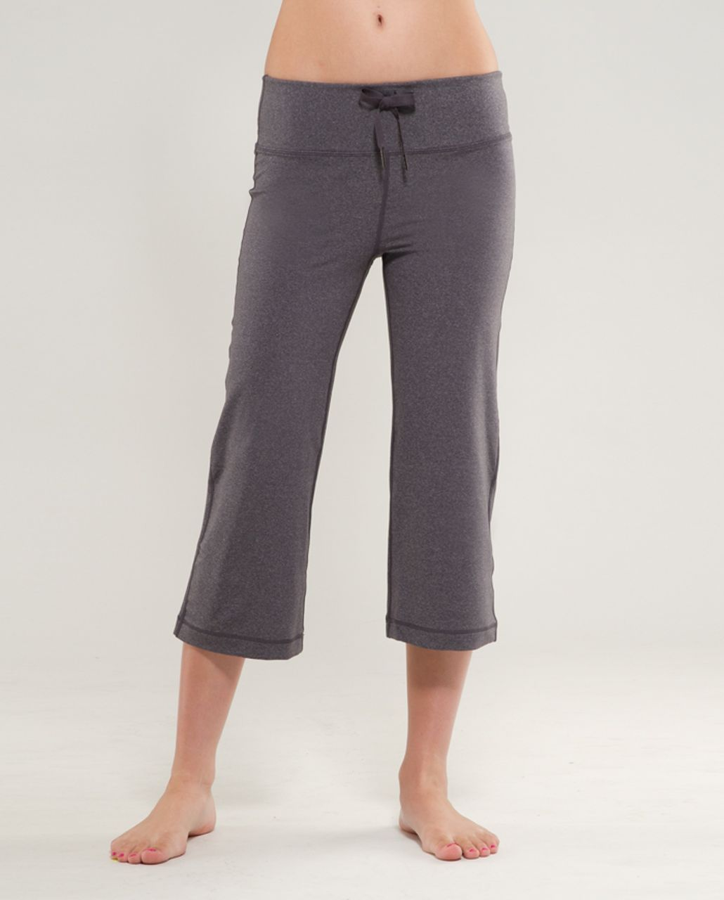 Lululemon Relaxed Fit Crop II - Heathered Coal