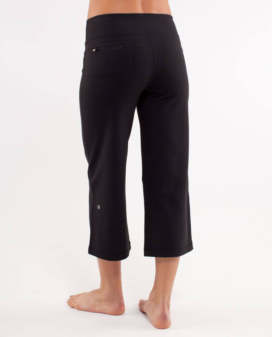 Lululemon Relaxed Fit Crop II - Black