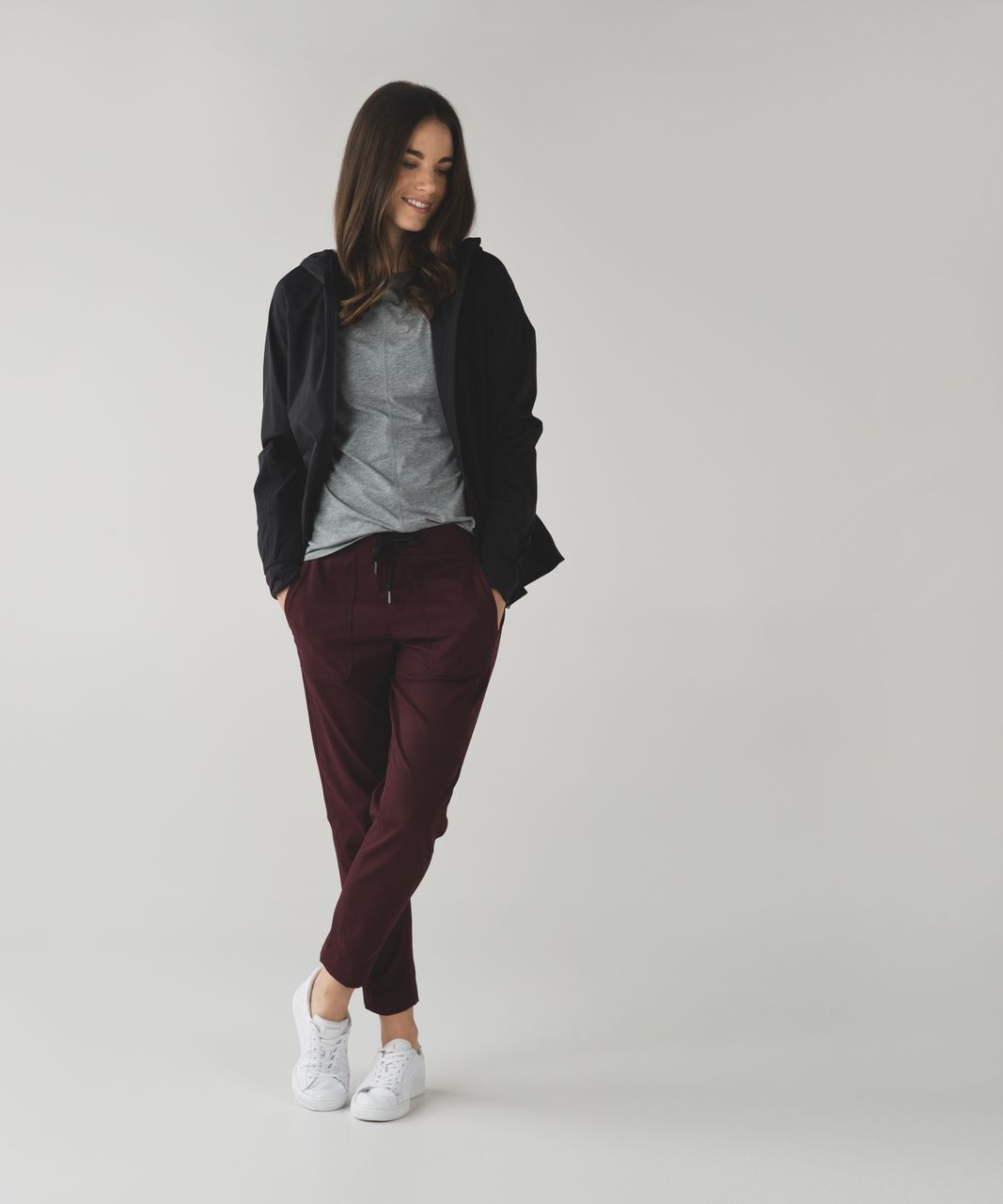 Lululemon &go Take You There Trouser - Bordeaux Drama