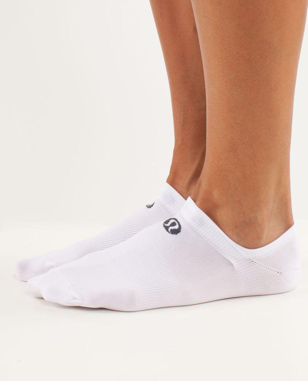 Lululemon Women's Featherweight Sock - White