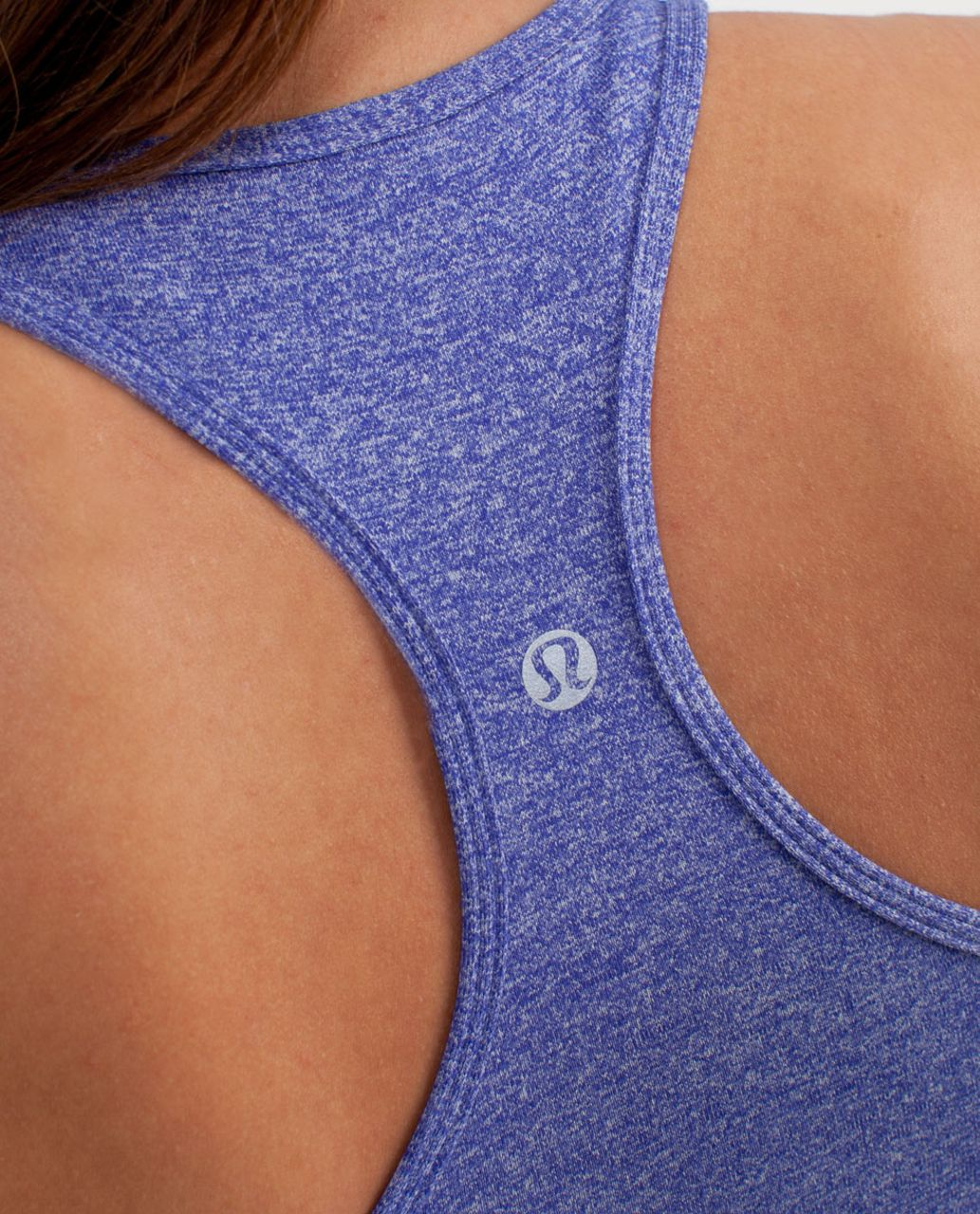Lululemon Cool Racerback - Heathered Pigment Blue