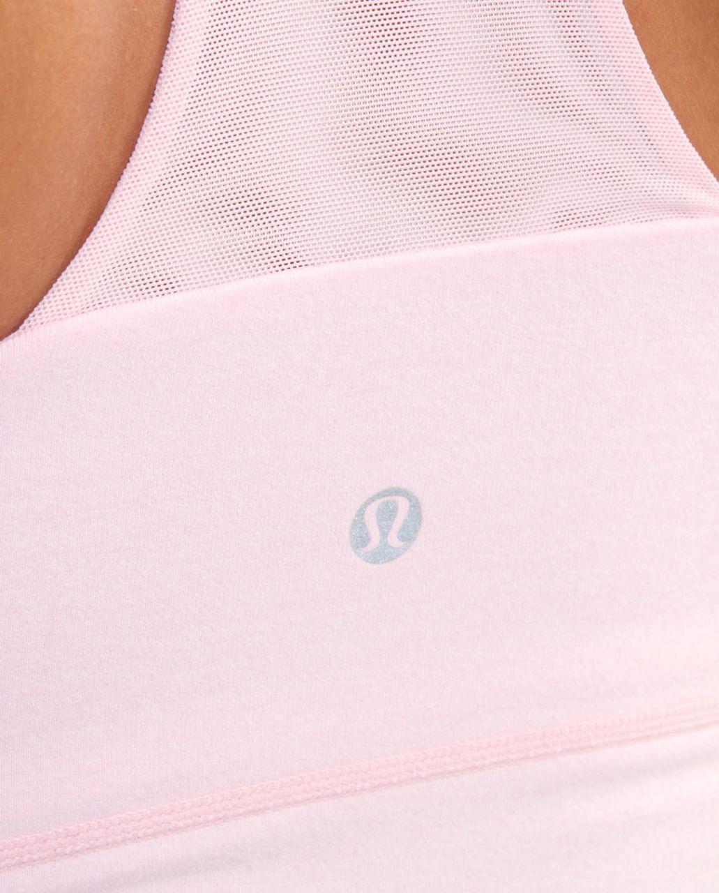 Lululemon Scoop Neck Tank - Heathered Pig Pink /  Pig Pink