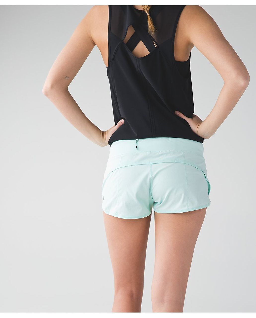 Lululemon Speed Short - Sea Mist