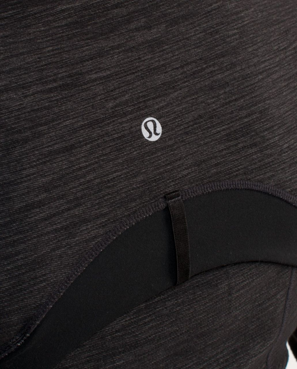 Lululemon Define Jacket - Black Slub Denim /  Black