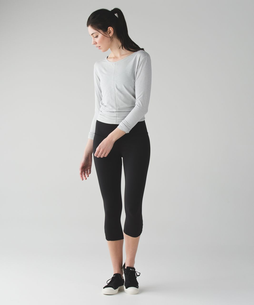 Lululemon True Self Crop II - Black