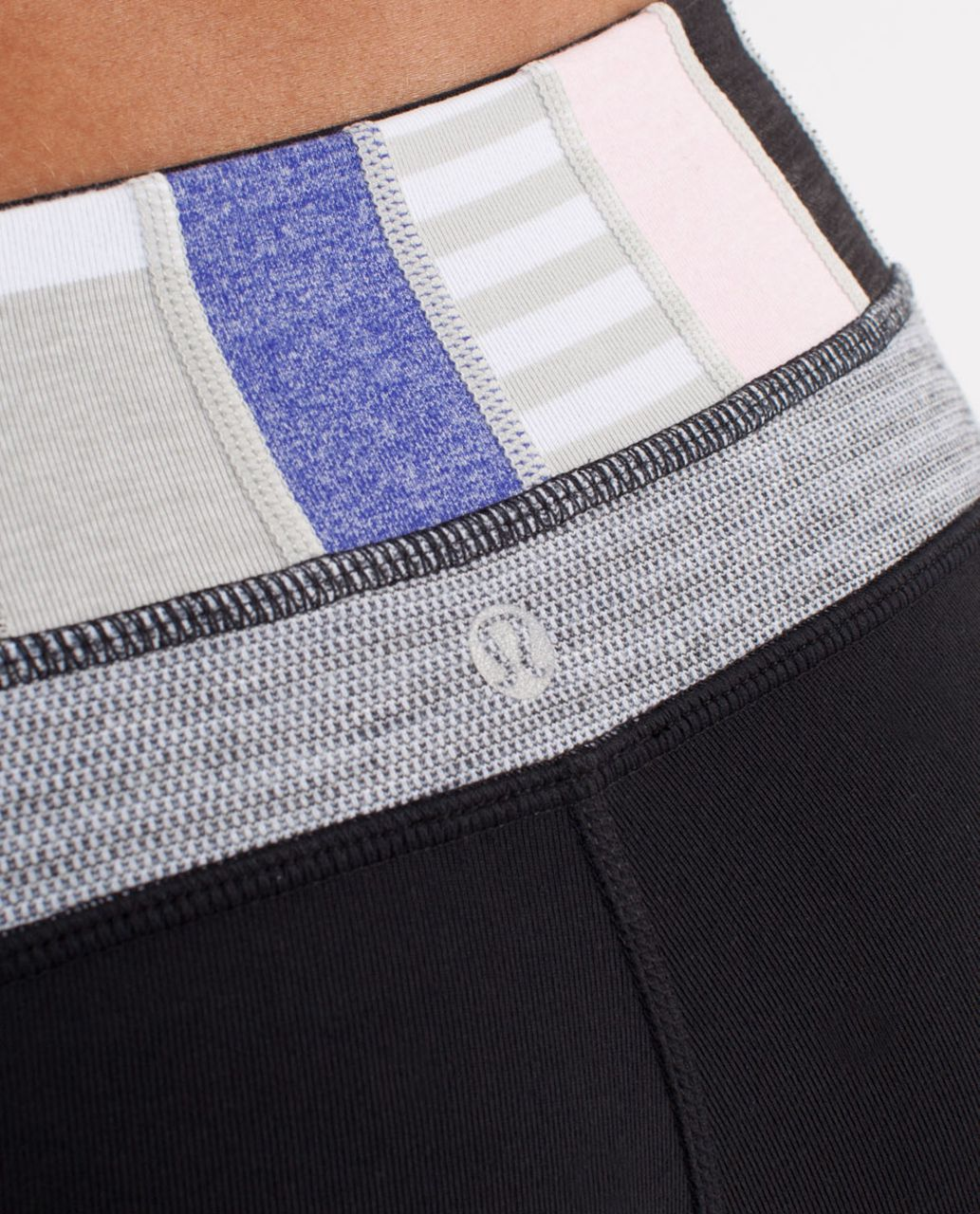 Lululemon Groove Pant (Tall) - Black /  Quilting Winter 19 /  Deep Coal Silver Spoon Pique