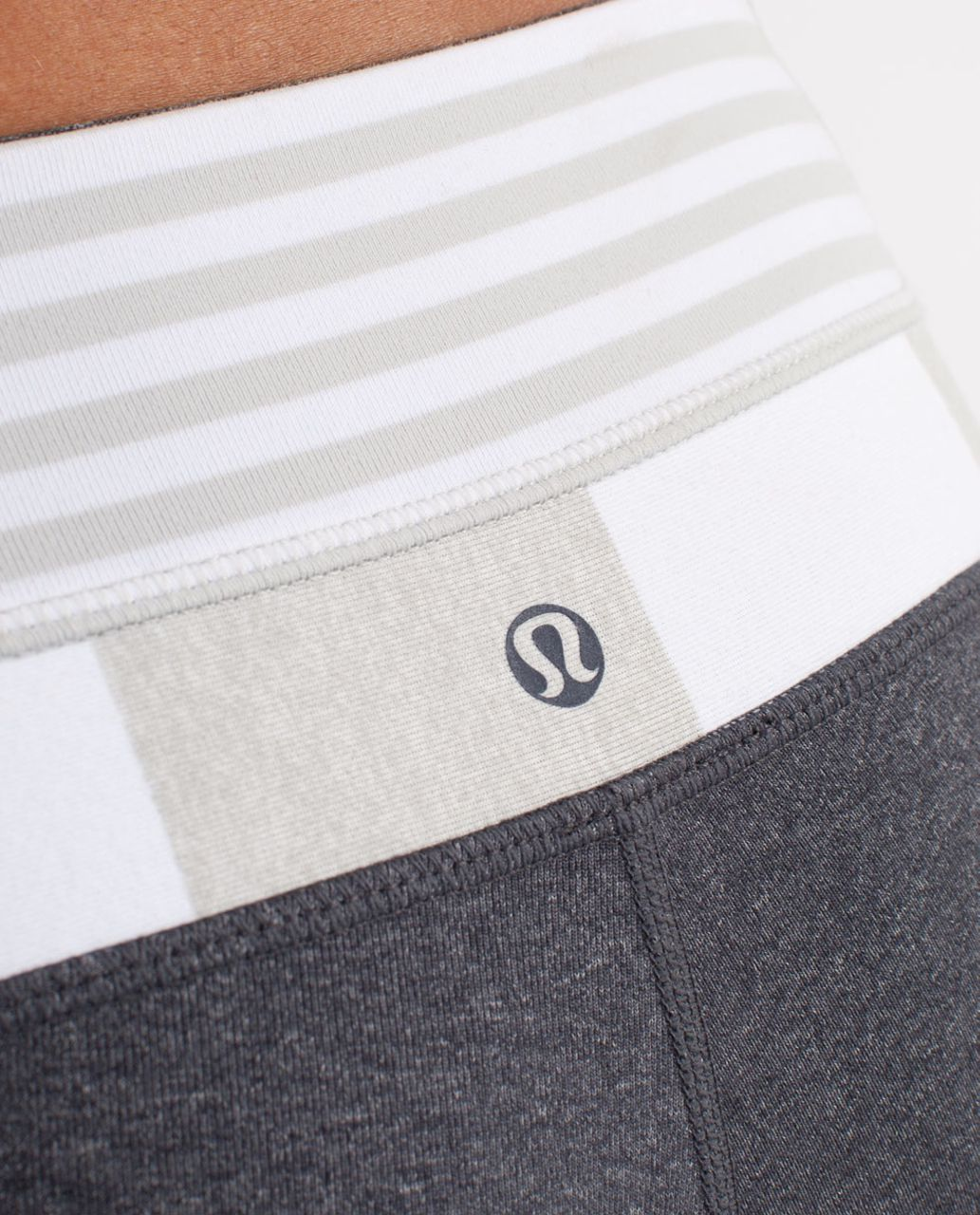 Lululemon Groove Pant (Tall) - Heathered Deep Coal /  Silver Spoon White Narrow Bold Multi Stripe /  White Silver Spooi