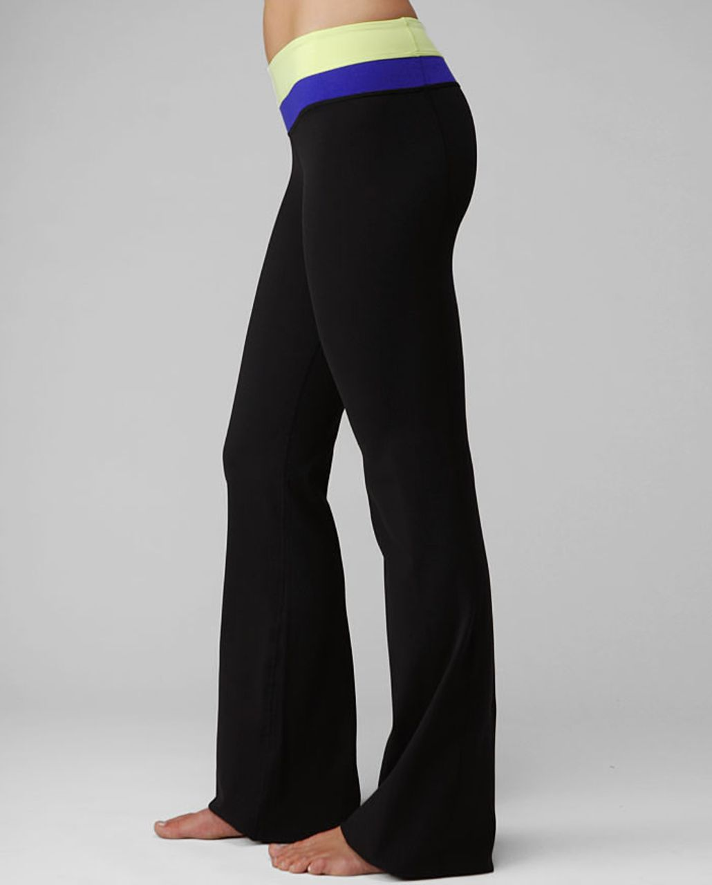 Lululemon Groove Pant (Tall) - Black /  Wish Blue