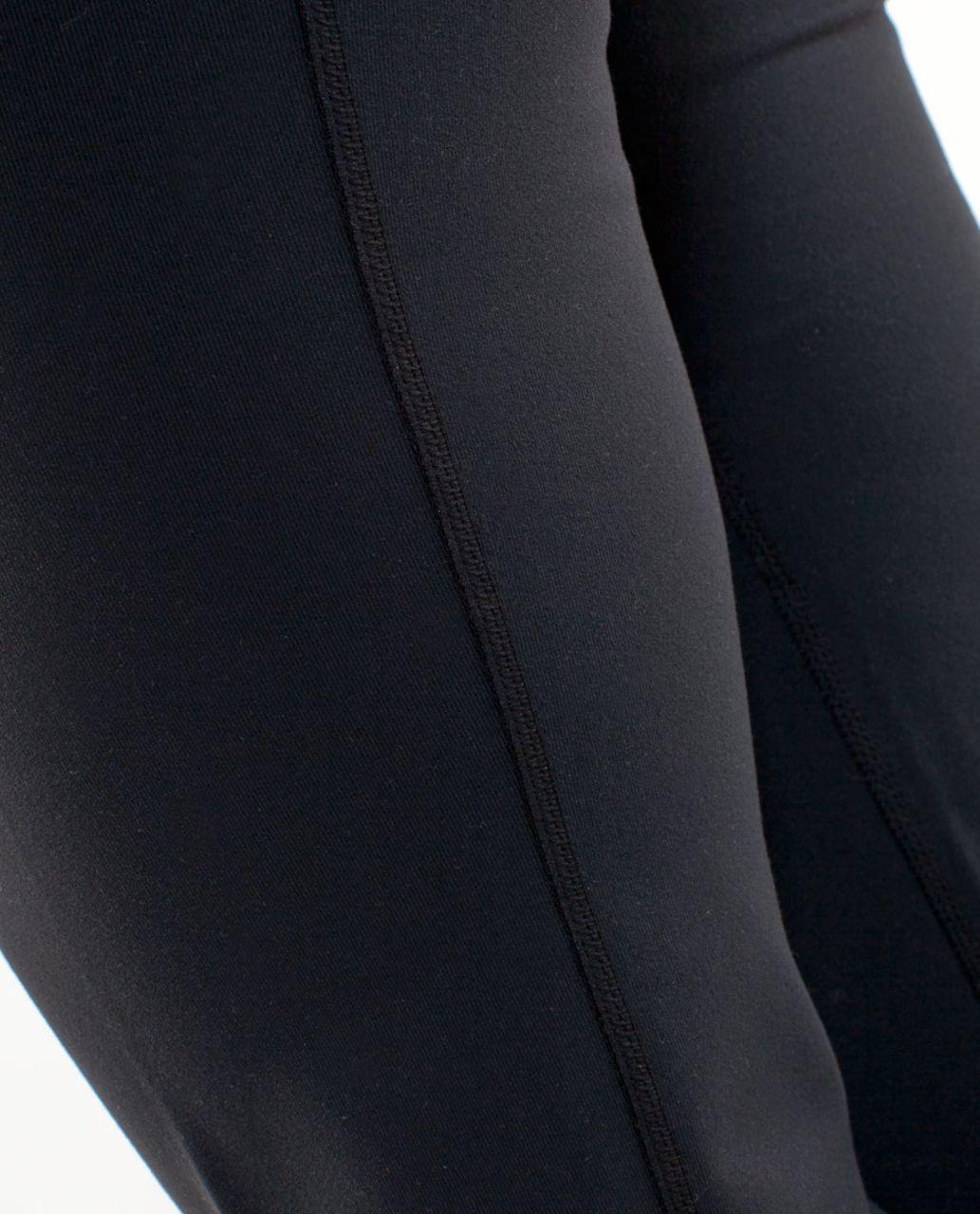 Lululemon Groove Pant (Tall) - Black /  Oasis /  River Rock