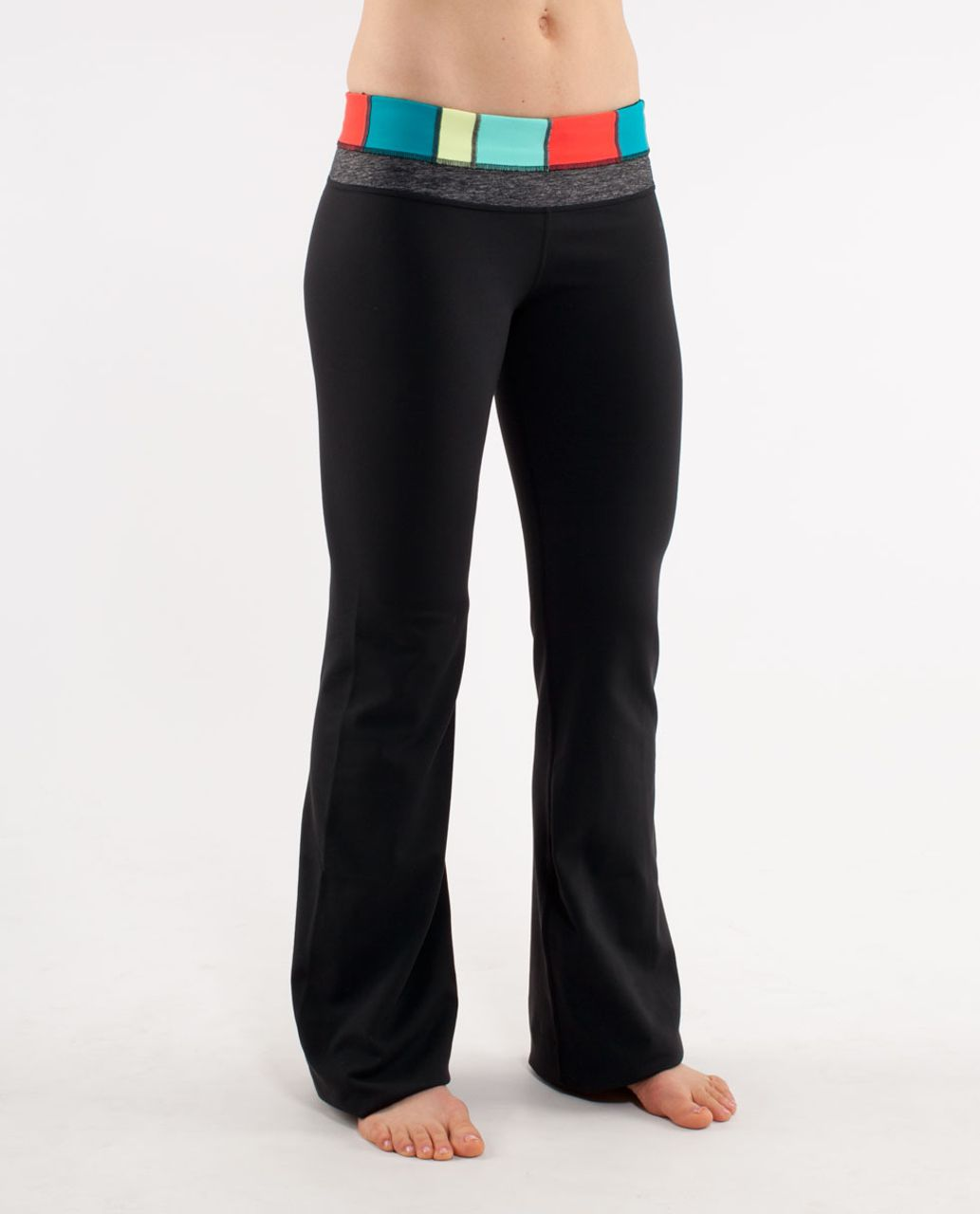 Lululemon Groove Pant (Tall) - Black /  Quilt Fall 1