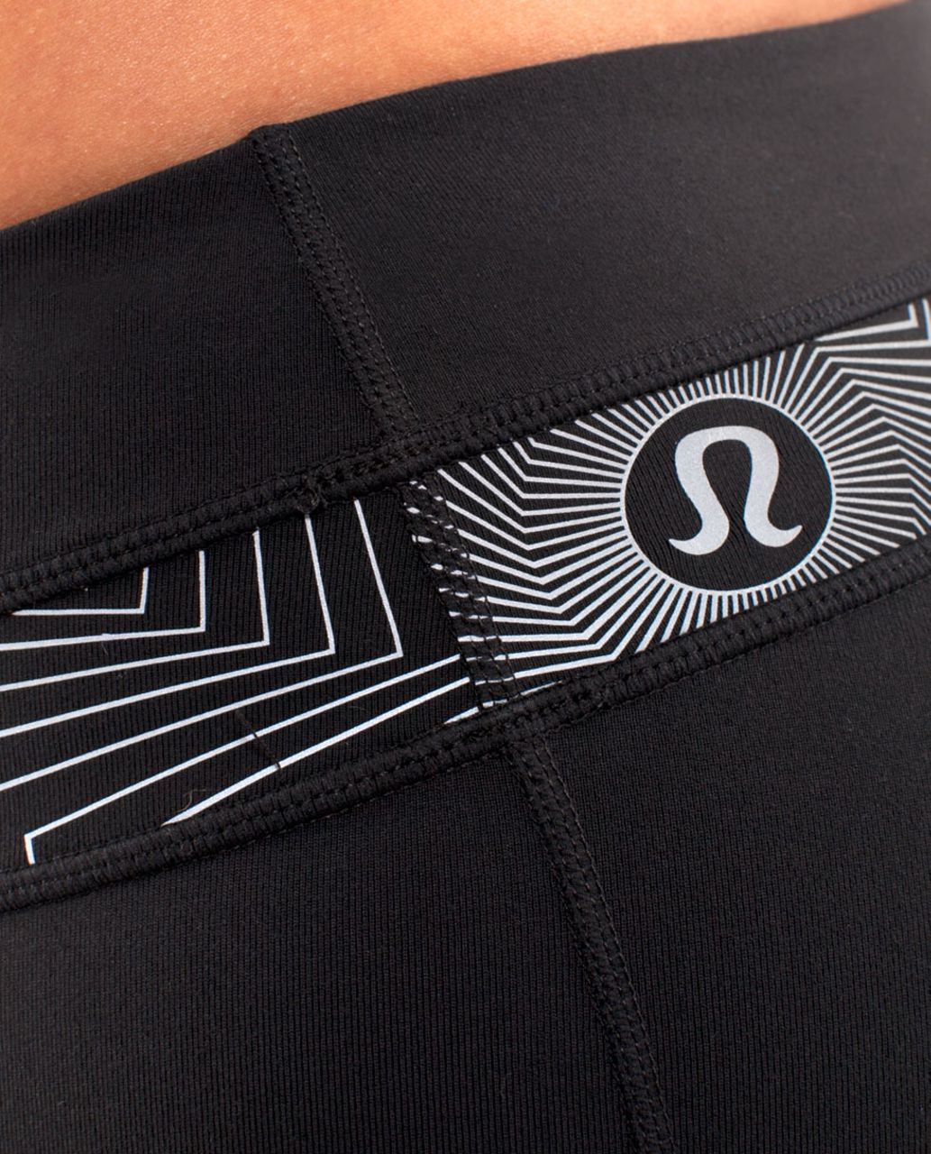 Lululemon Groove Pant (Tall) - Black /  Electric Shock Reflective