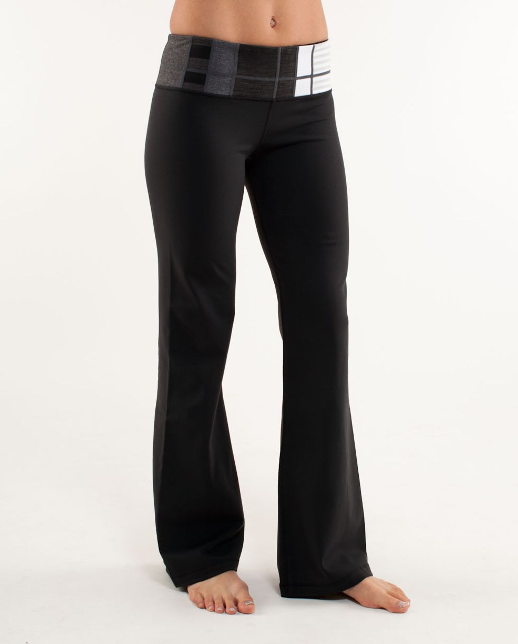Lululemon Groove Pant (Regular) - Black /  Quilting Winter 20