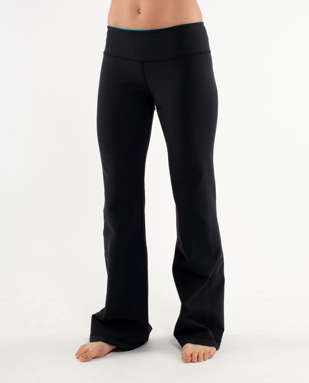 Lululemon Groove Pant (Regular) - Black /  Oasis /  River Rock
