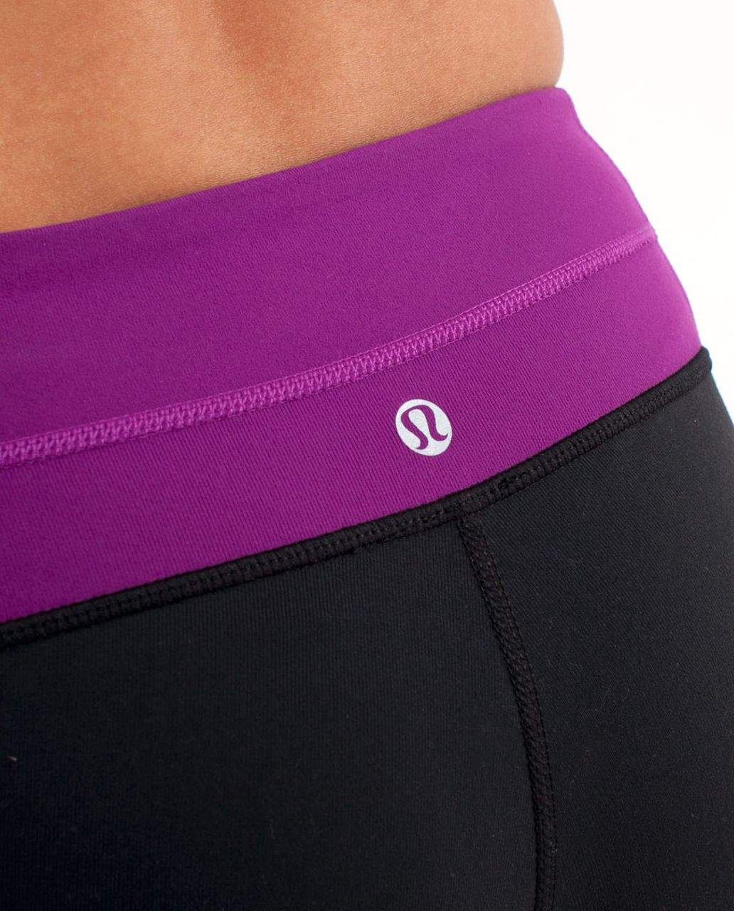 Lululemon Groove Pant (Regular) - Black /  Potion Purple