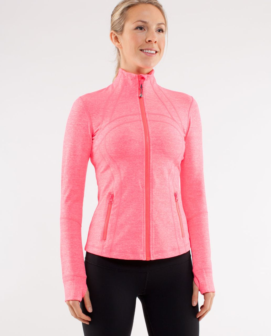 Lululemon Define Jacket - Heathered Flash