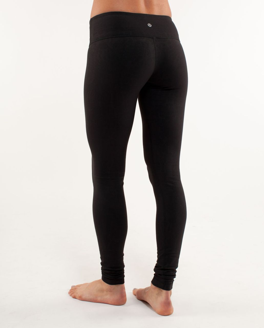 Lululemon Wunder Under Pant - Black Glacier Lace Embossed