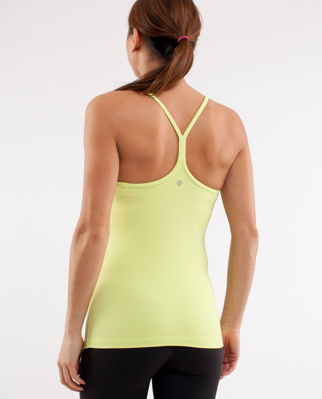 Lululemon Power Y Tank - Wild Lime