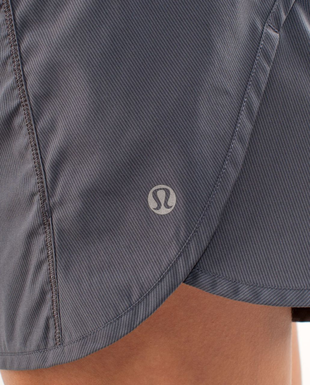 Lululemon Turbo Run Short - Coal /  Flash