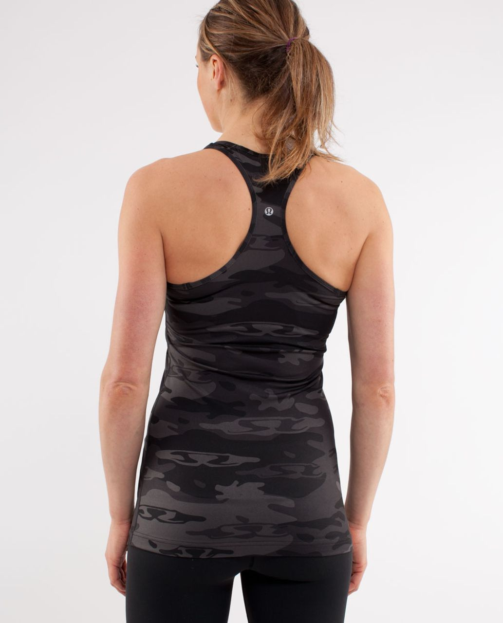 Lululemon Cool Racerback - Black /  Retro Camo