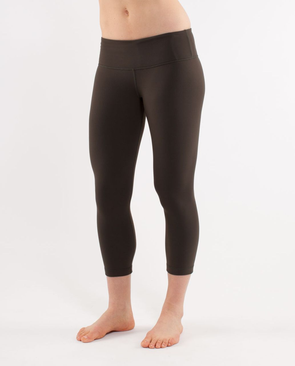 Lululemon Wunder Under Crop - Deep Camo