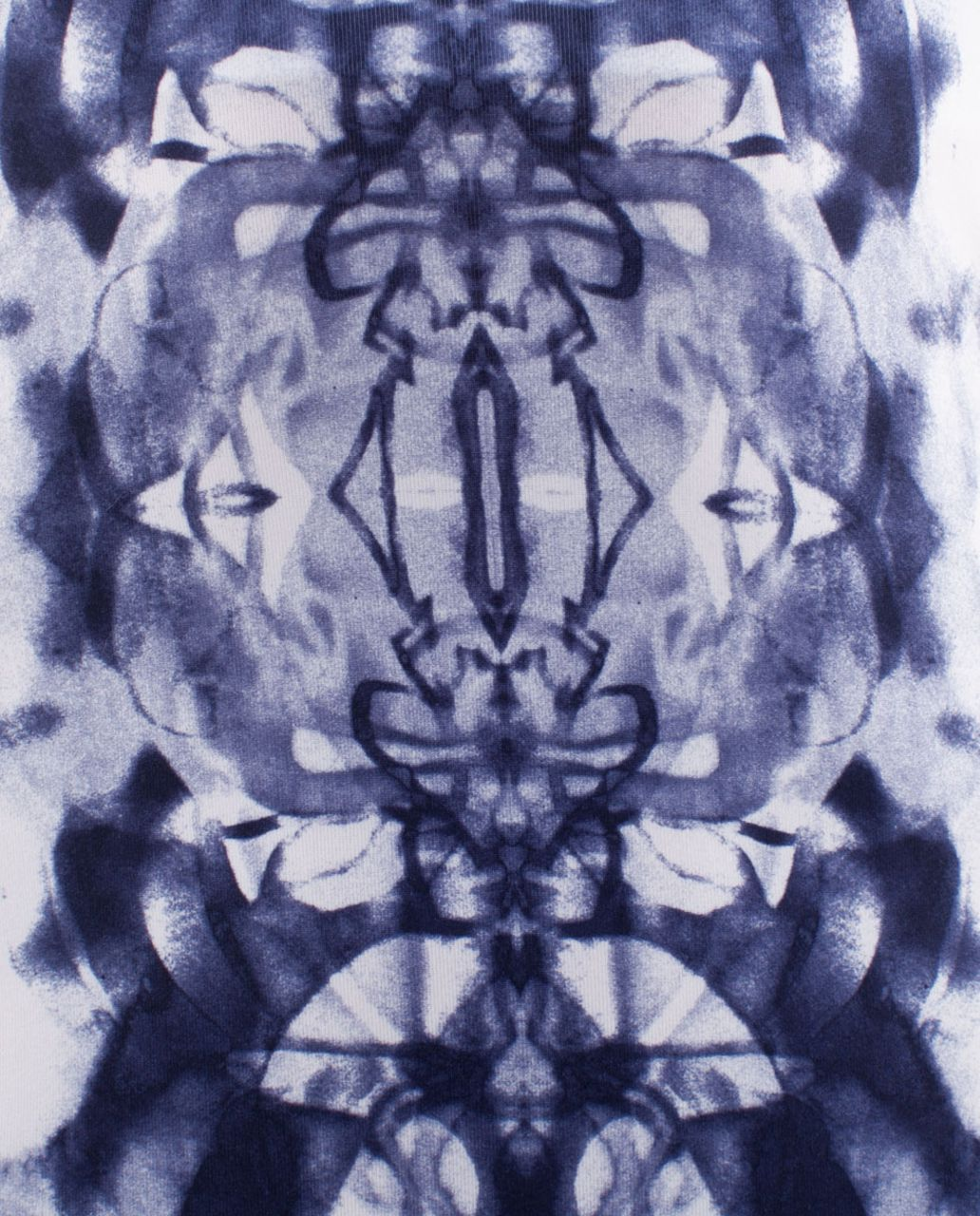 Lululemon Cool Racerback - Ink Blot White Deep Indigo