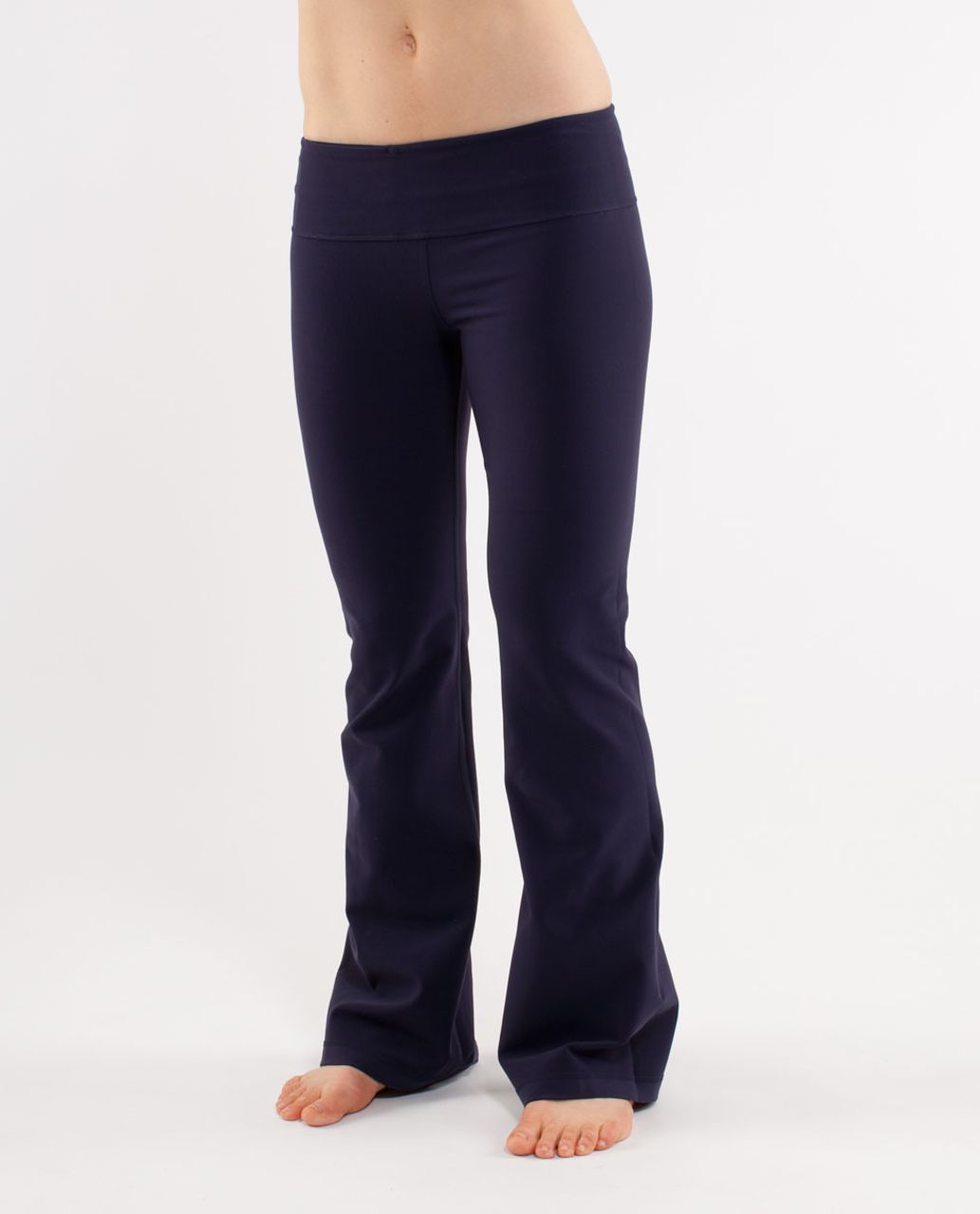 Lululemon Groove Pant (Regular) - Deep Indigo /  Deep Indigo /  Ink Blot White Deep Indigo