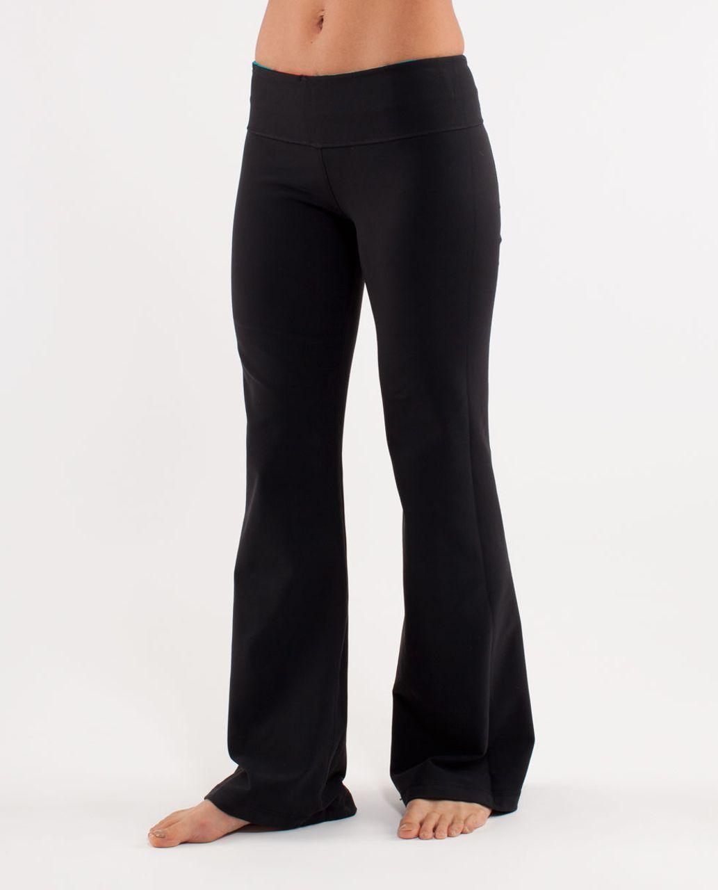Lululemon Groove Pant (Regular) - Black /  Quilt Fall 1